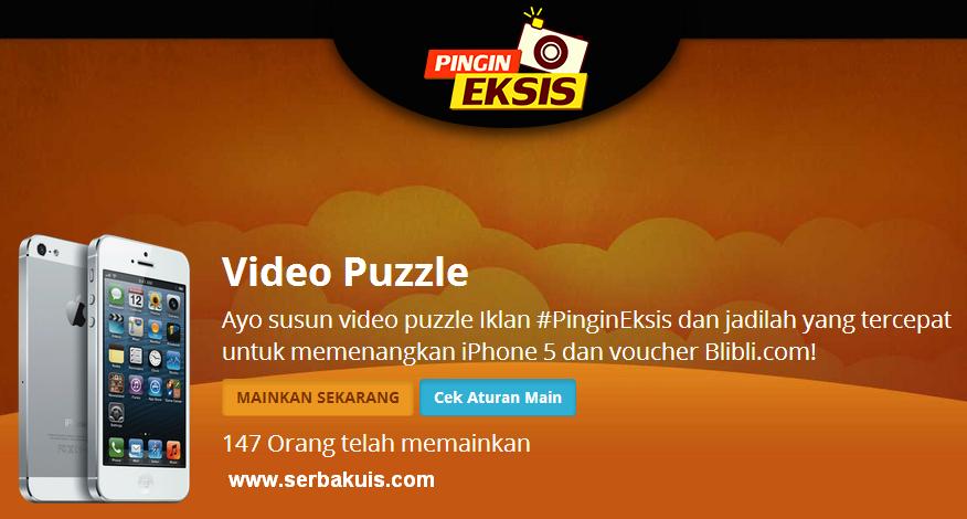 Kontes Game Puzzle Pingin Eksis Berhadiah iPhone 5
