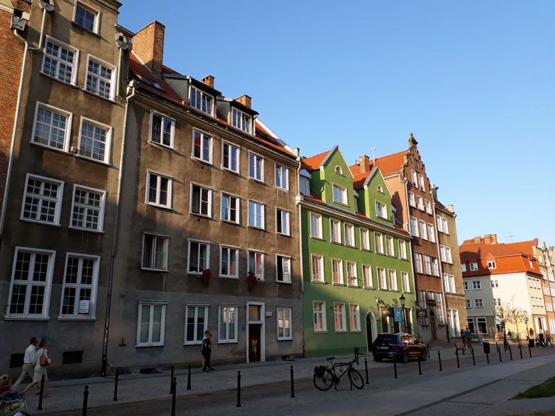I palazzi di Gdansk