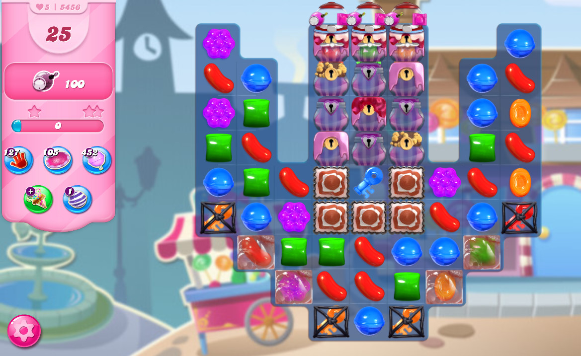 Candy Crush Saga level 5456