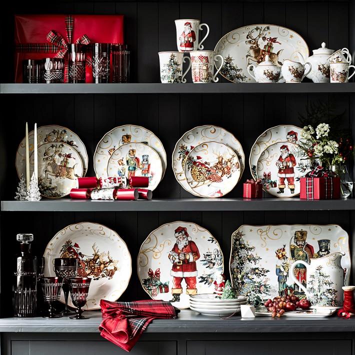 foto de Pine Cones and Acorns: Williams Sonoma Christmas Plates