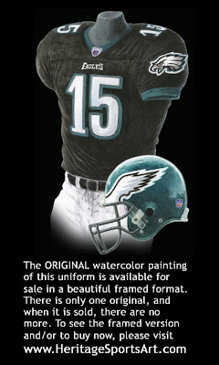 Philadelphia Eagles 2004 uniform
