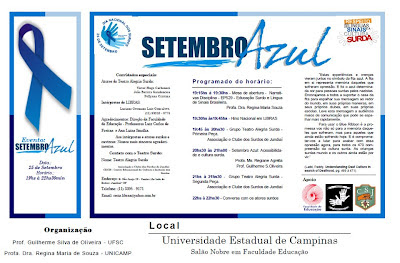 Evento: Setembro Azul - Unicamp