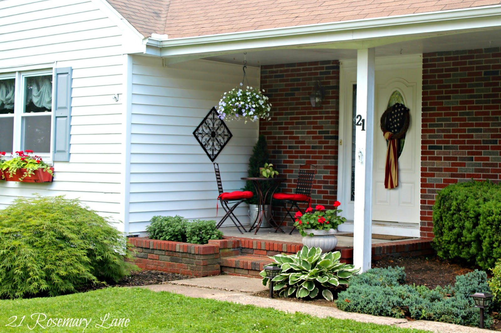 Popular 21 Rosemary Lane: Front Porch Revival ~ How I Prettied it Up! RS64