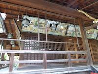 佐太天神宮の拝殿