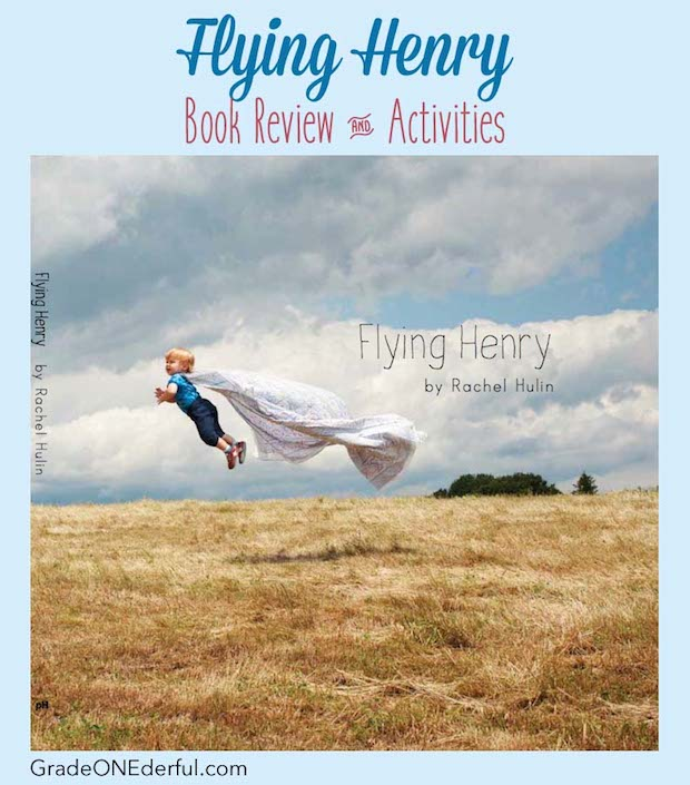 Flying Henry: Book review with art, writing and drama extensions. Perfect book for developing imagination. Great for toddlers to first grade! #gradeonederful #bookreview #booksforkids #flyinghenry