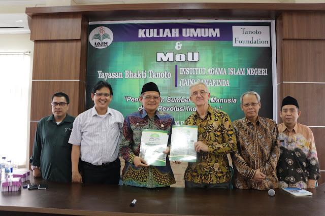 Universitas Mulawarman, IAIN Samarinda, dan Tanoto Foundation Kerja Sama Siapkan Calon Guru Profesional