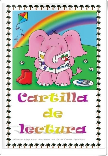 """Cartilla de lectura en minúsculas"" (C.E.I.P. Infante Don Felipe de Daimiel, Ciudad Real)"
