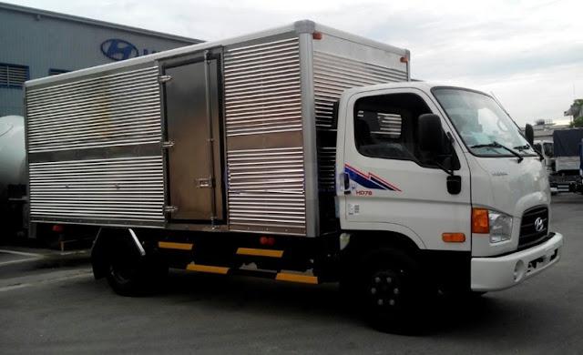 Xe tải Hyundai 4,5 tấn hd78 thùng kín