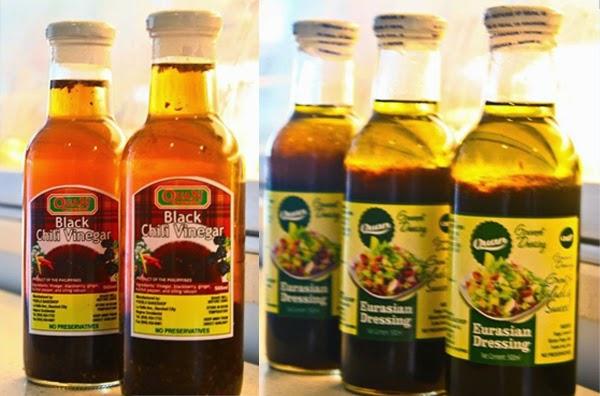 Quan delicacies - organic salad dressings - bottled salad dressings - Bacolod pasalubong - Bacolod City