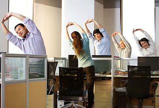 Stretch At Work To Stay Healthy