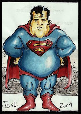 super heroes  gordos