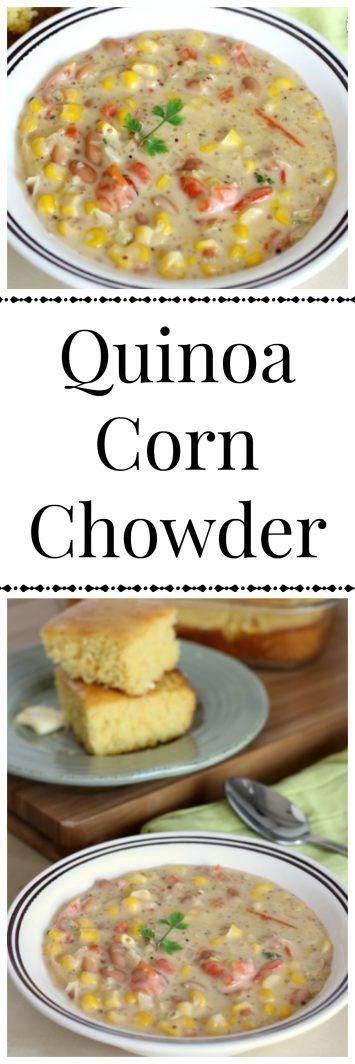 Hearty Quinoa Corn Chowder Recipe