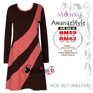 T-Shirt-Muslimah-Awanazstyle-AW008H