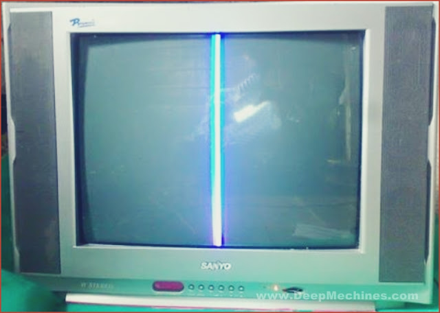Kerusakan Blok Horizontal Output TV China WCOM 14Inch - 21Inch