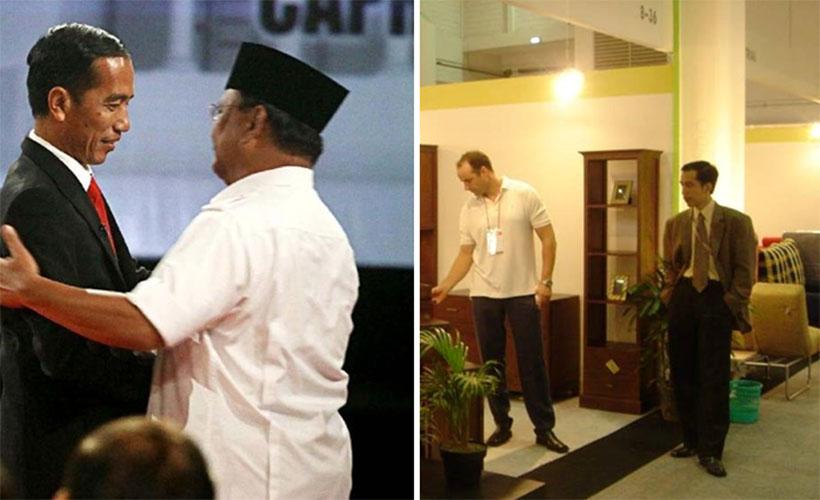 Jokowi jas itu pakaian orang eropa mahal
