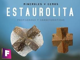 Estaurolita - Propiedades, yacimientos y usos