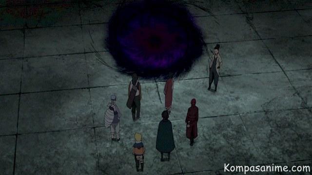 Kekuatan rinnegan milik sasuke lainnya untuk melakukan perjalanan antar dimensi