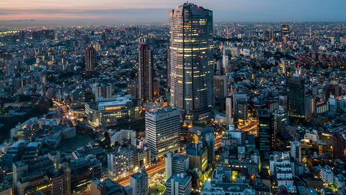 Wallpaper: Tokyo at Sunrise