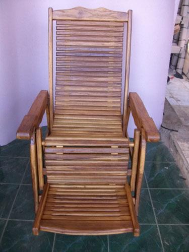 Comfortable Lounge Chairs Jepara Teak Wood Carving Furniture