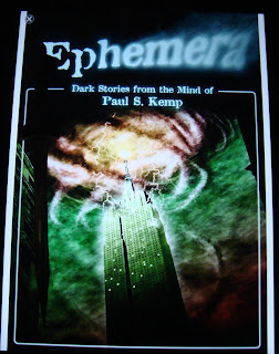 Portada del libro Ephemera, de Paul S. Kemp
