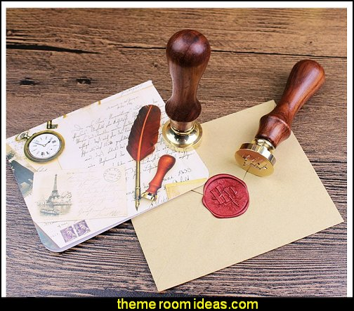 Harry Potter Hogwarts School Badge.Wax Seal Stamp Kit   Harry potter themed bedrooms - Harry Potter Room Decor - Harry Potter Bedroom Ideas - Harry Potter  bedding - Harry Potter wall decals - Harry Potter wall murals - harry potter furniture - harry potter party supplies - castle decorating props - harry potter party decorations