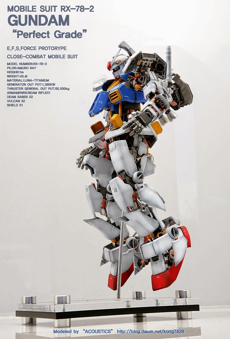 9cb29d762c8 Custom Build Pg 160 Rx 78 2 Gundam Open Hatch Presentation
