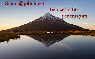 cahit zarifoğlu, yedi güzel adam, 7, cahit zarifoğlu hayatı, cahit zarifoğlu şiirleri, cahit zarifoğlu sözleri, dağ, zerre