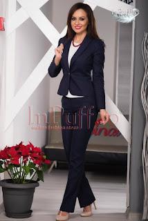 Costum dama bleumarin elegant • MBG1