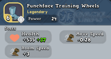 World of Legends: Punchface's Training Wheels