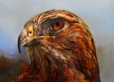 Wildlife Oil Painting by Jeff Ward