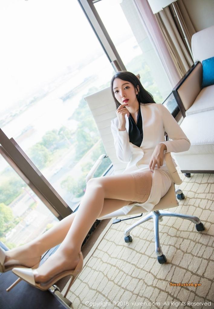 XIUREN No.1209 Xiao Reba Angela MrCong.com 024 wm - XIUREN No.1209: Người mẫu Xiao Reba (Angela小热巴) (52 ảnh)