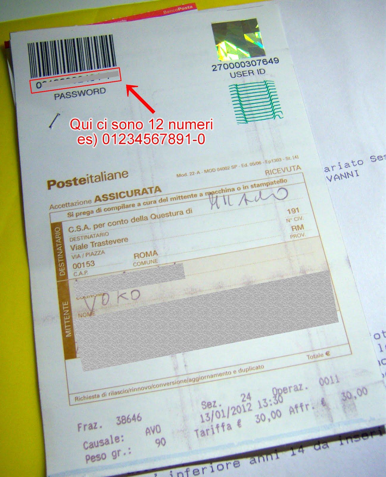 Controllo Online Carta Di Soggiorno   Controllo Documenti Polizia Di ...