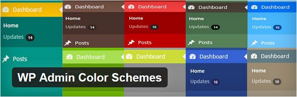 WP Admin Color Schemes plugin