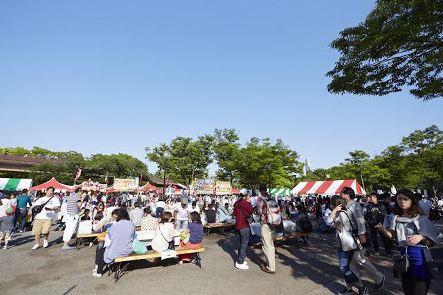 Okinawa Matsuri 2018 at Yoyogi Park, Tokyo