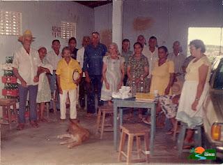 Terezinha Gomes e o clube de idosos