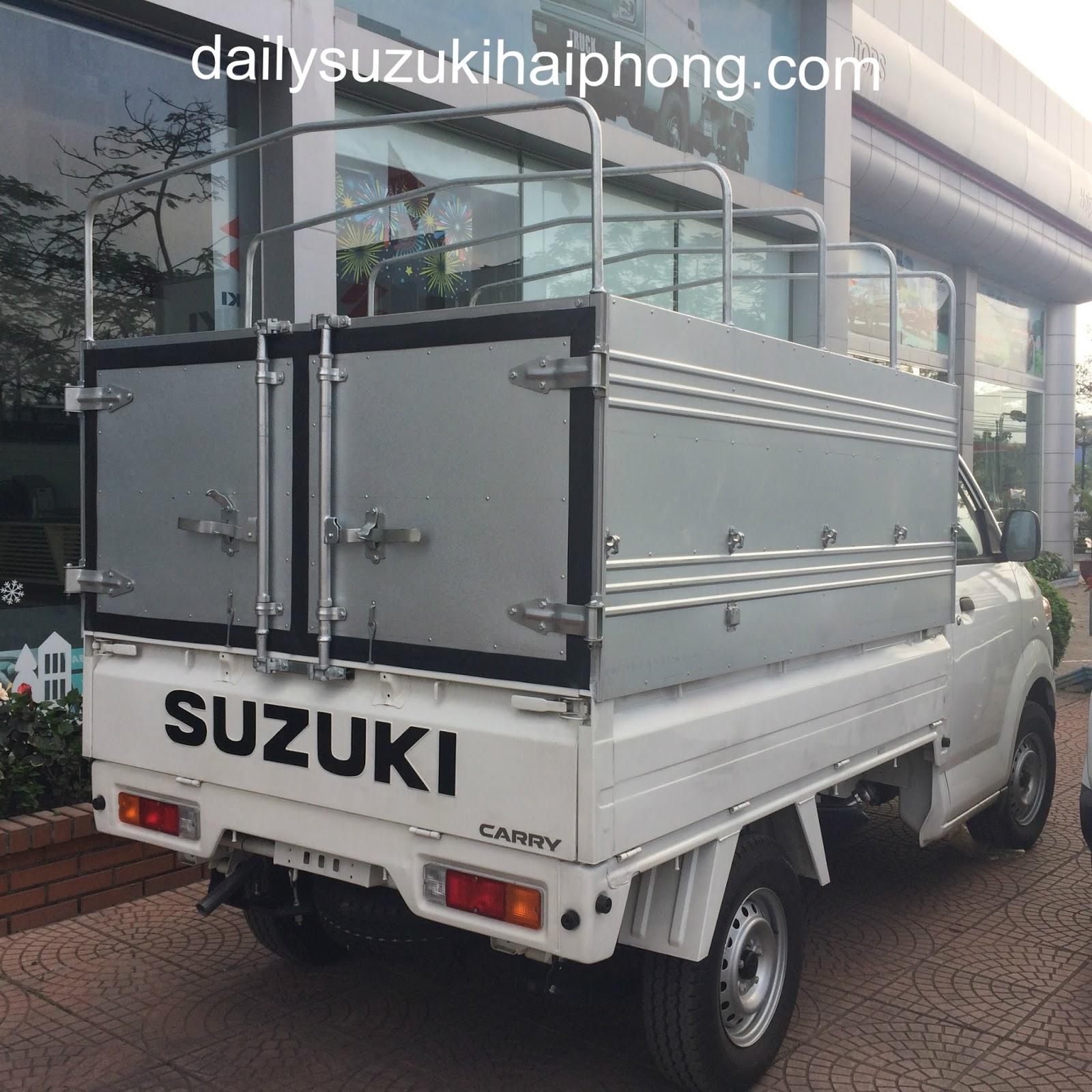 Xe tải Suzuki 700kg Hải Phòng