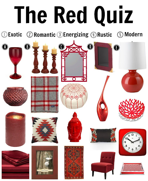 Do you know all of the ways red can change a room?  Take the quiz!