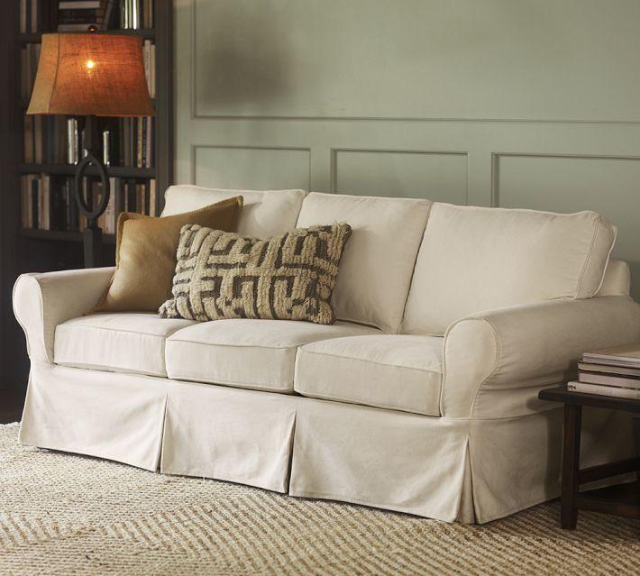 Britton S Webb Basic White Sofa