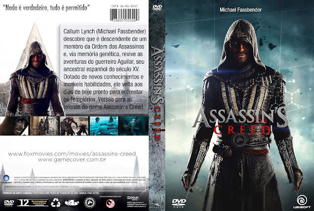 Capa DVD Assassins Creed [Exclusiva]