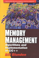 Memory Management: Algorithms and Implementations in C/C++