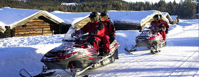 Snowmobile safari, Savalen