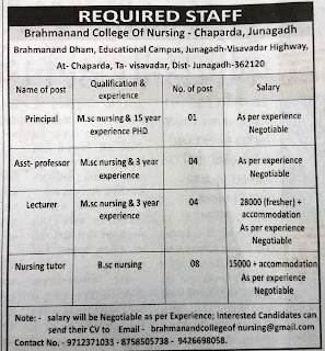 Staff Nurse Recruitment