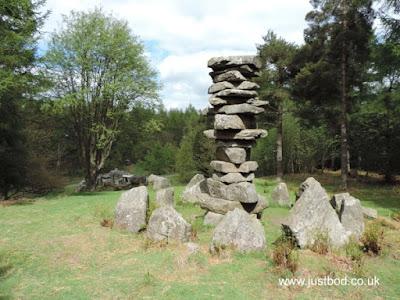 Column of Stones, Druid's Temple, Ilton, Yorkshire