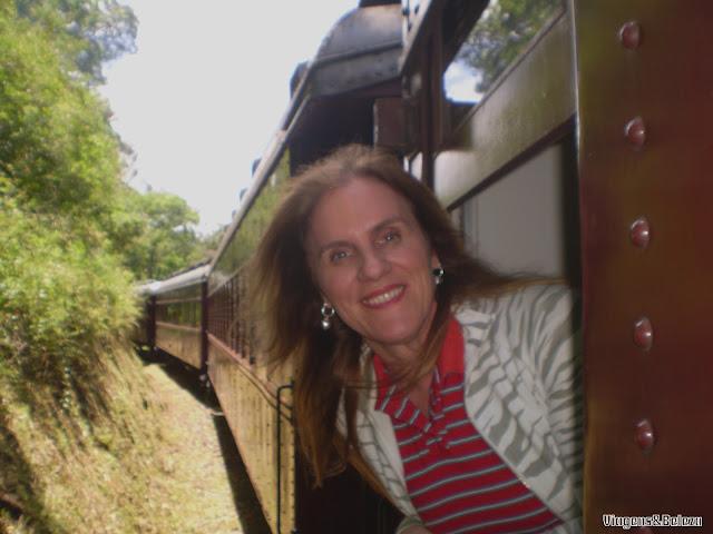 Passeio de Maria Fumaça na Serra Gaúcha