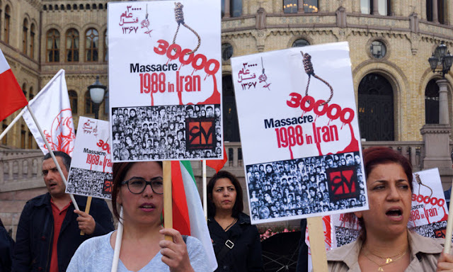 CALLS FOR JUSTICE AND ACCOUNTABILITY FOR THE 1988 MASSACRE LEAD TO CRACKDOWN ON MEK/PMOI