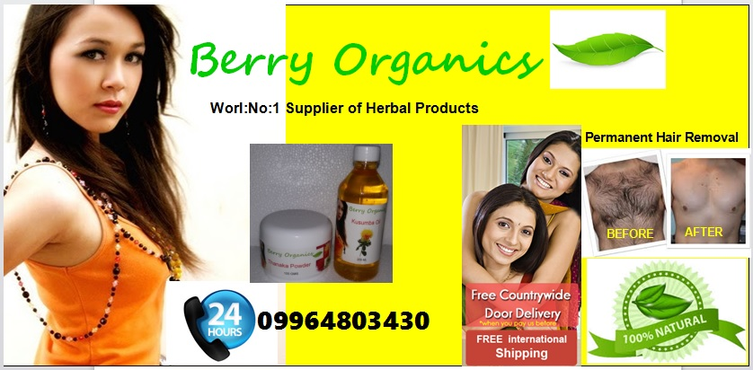 Berry Organics Berry Organics Permanent Hair Removal Products
