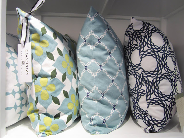 New cotton collection COCOCOZY pillows at the New York International Gift Fair