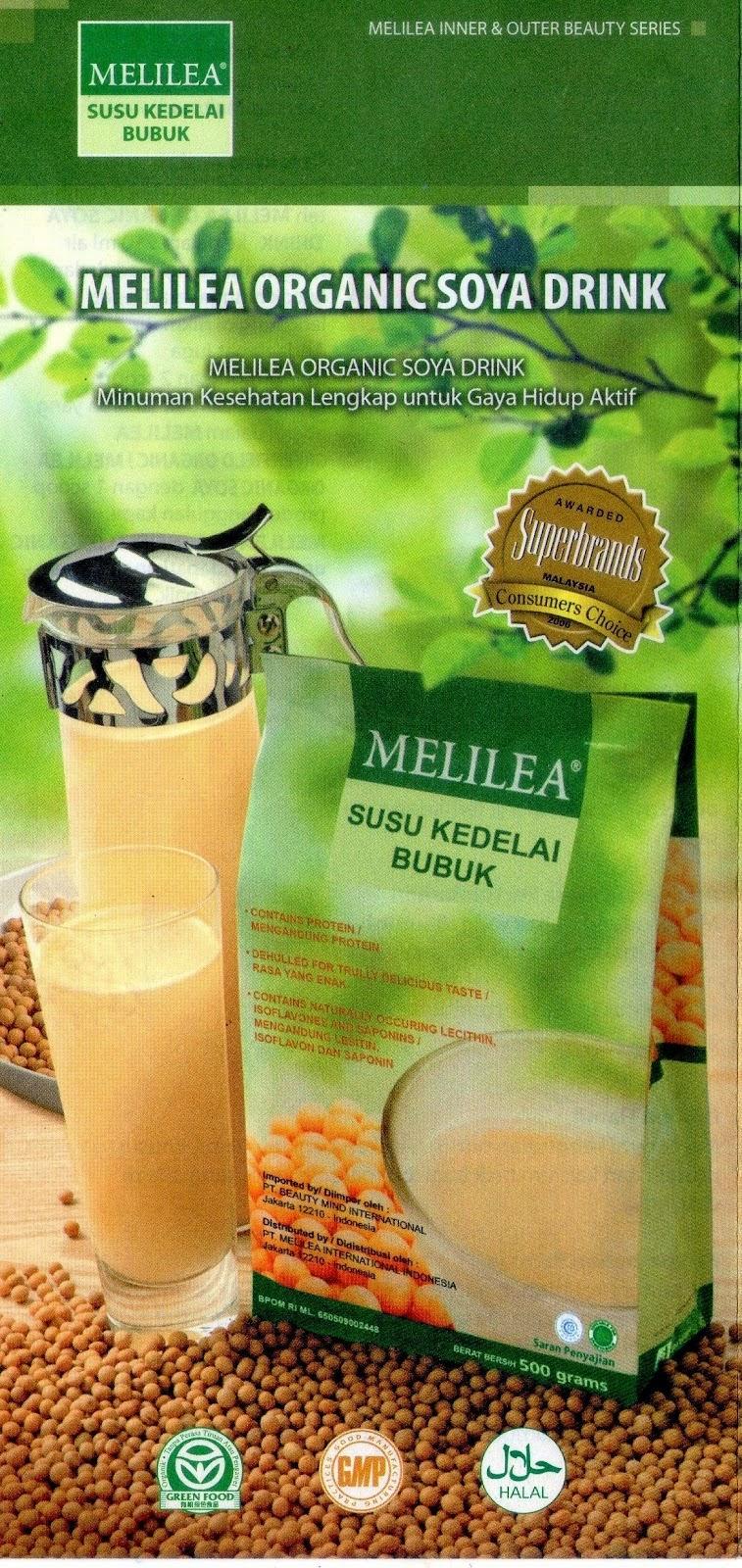 Manfaat susu kedelai Melilea untuk Kesehatan