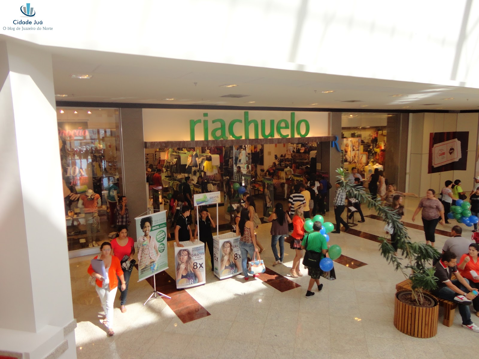 Loja Riachuelo do Cariri Garden Shopping em Juazeiro do Norte. 02306b4b02