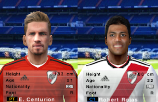 PES 6 Facepack River Plate 2018/2019 by Cuervo96